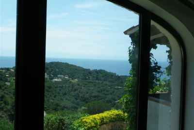 House on the coast in Lloret de Mar with views to the sea